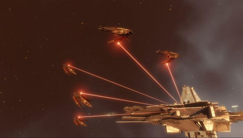 EVE Online Angriff Zitadelle
