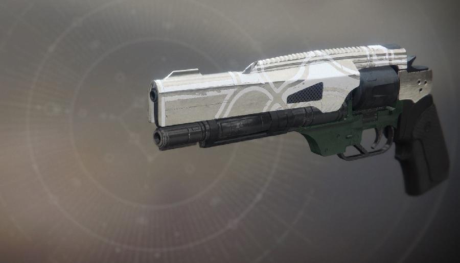 Endlicher Impaktor Eisenbanner Handcannon Destiny 2