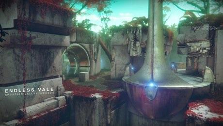 Endloses Tal endless Vale PvP Map Destiny 2
