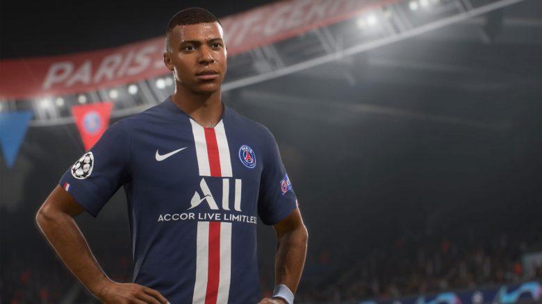 FIFA 21 Mbappe Portrait Spieler