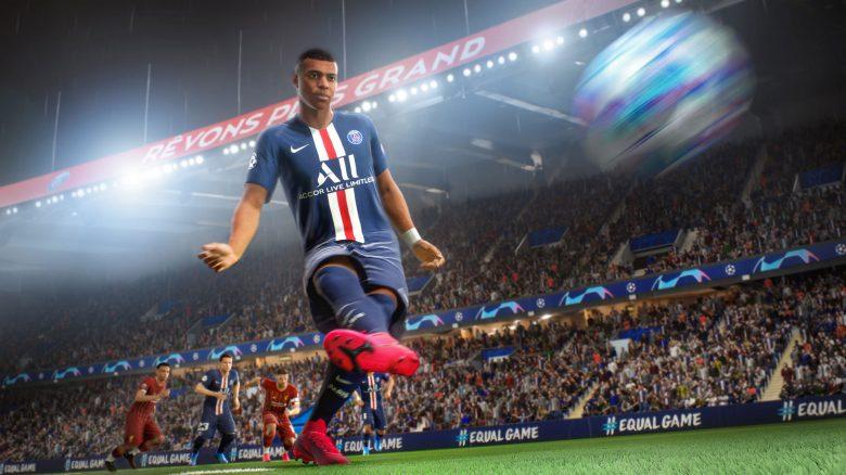 FIFA 21 Mbappe Schuss