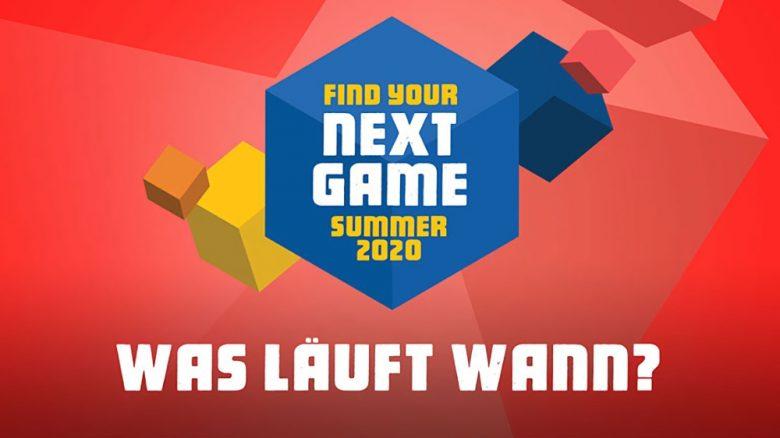 Find Your Next Game: Unser Programm, kommende Highlights und alle Reveals