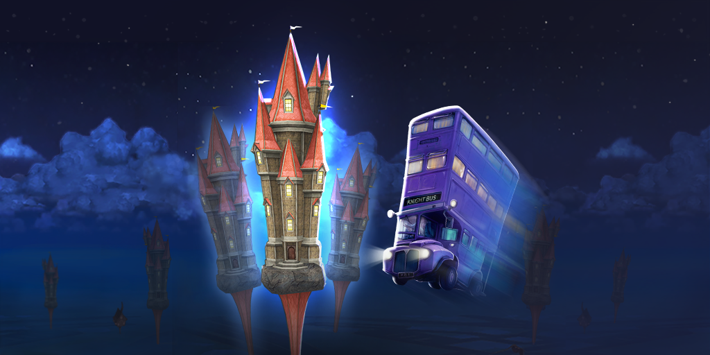 Wizards Unite Fahrender Ritter