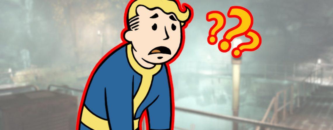 Fallout 76 Vault Boy verwirrt Titel