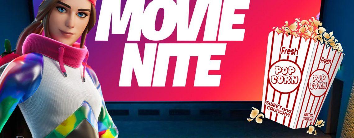 Fortnite Movie Night Titel