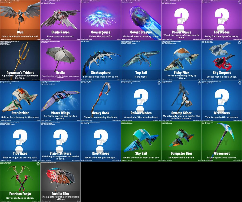 Fortnite Season 3 Emotes Pickaxe Leak2