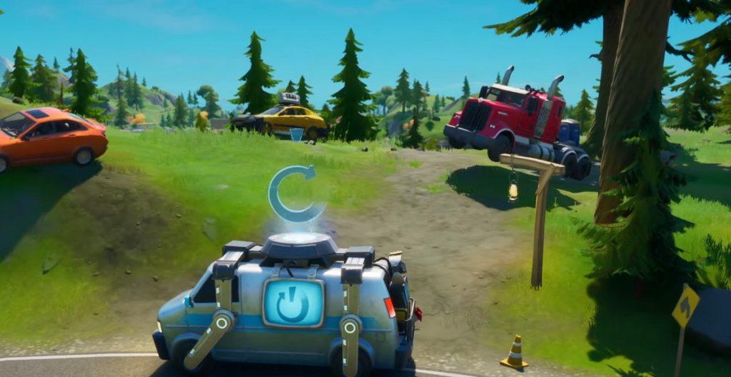 Fortnite Season 3 Kapitel 2 Battle Pass Autos