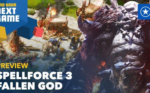 GS FYNG SpellForce 3 Fallen Gods Titel