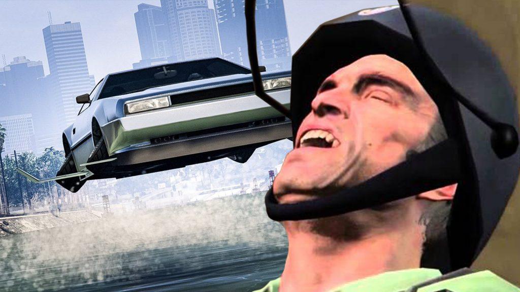GTA Online Deluxo Trevor Titel lachen