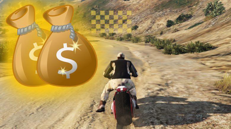 GTA Online Geld Rennen Titel