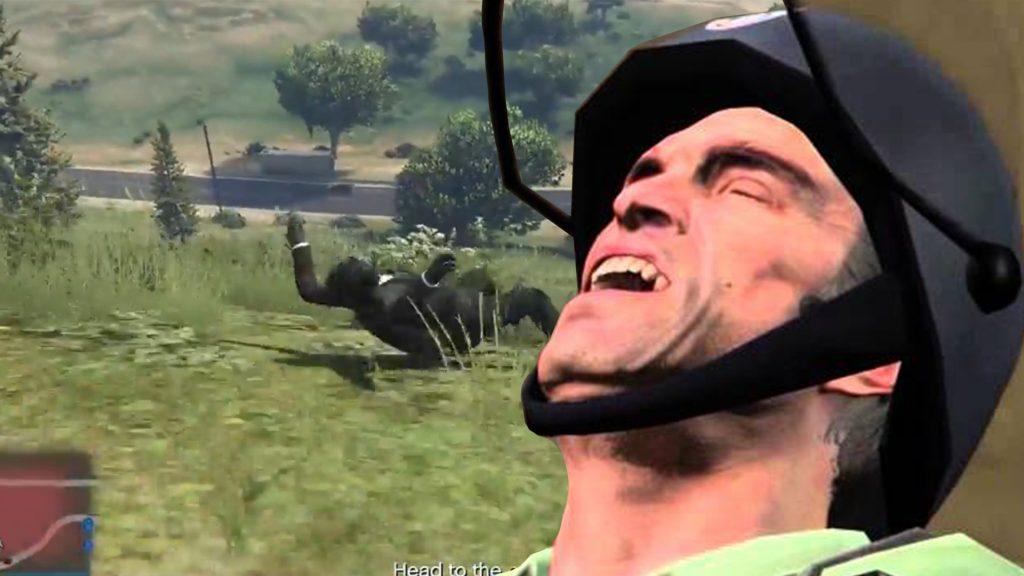 GTA Online Trevor Lachen Heist Fail Titel