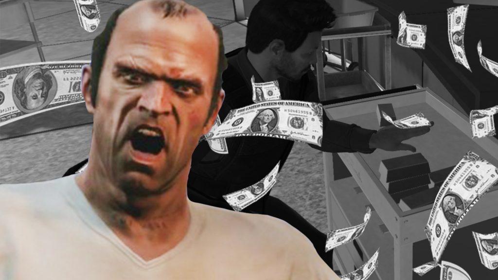 GTA Online Trevor Titel Gold Casino Heist Geld