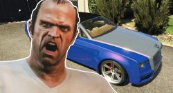 GTA Online Trevor Wütend Auto