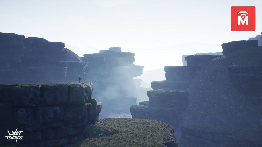 Last Oasis Volcanic Theme Landschaft MMMO
