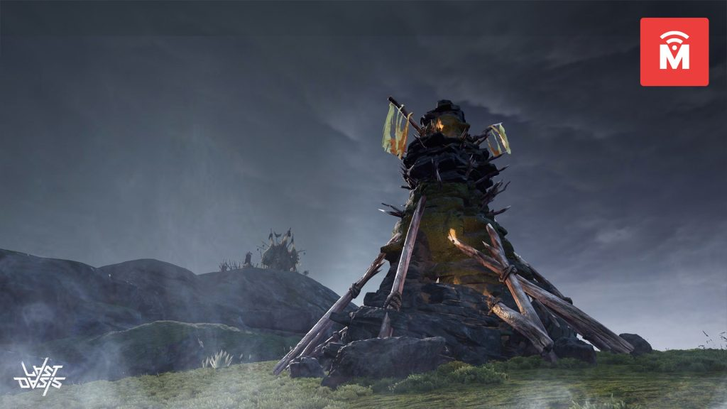 Last Oasis Volcanic Theme Turm MMMO
