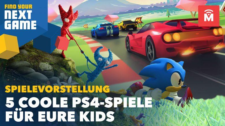 5 PS4-Games, die meine Kids gerade am liebsten spielen