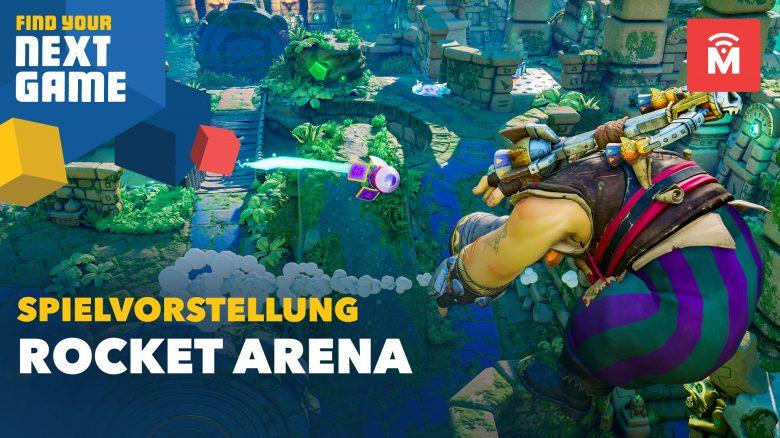 """Rocket Arena: Neuer, schneller 3v3-Shooter im """"Smash Bros""""-Style"""