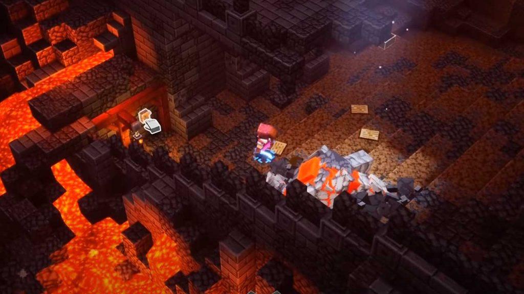 Minecraft-Dungeons-Feuerschmiede