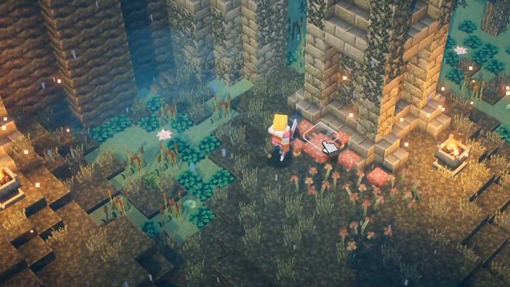 Minecraft-Dungeons-Nasser-Sumpf