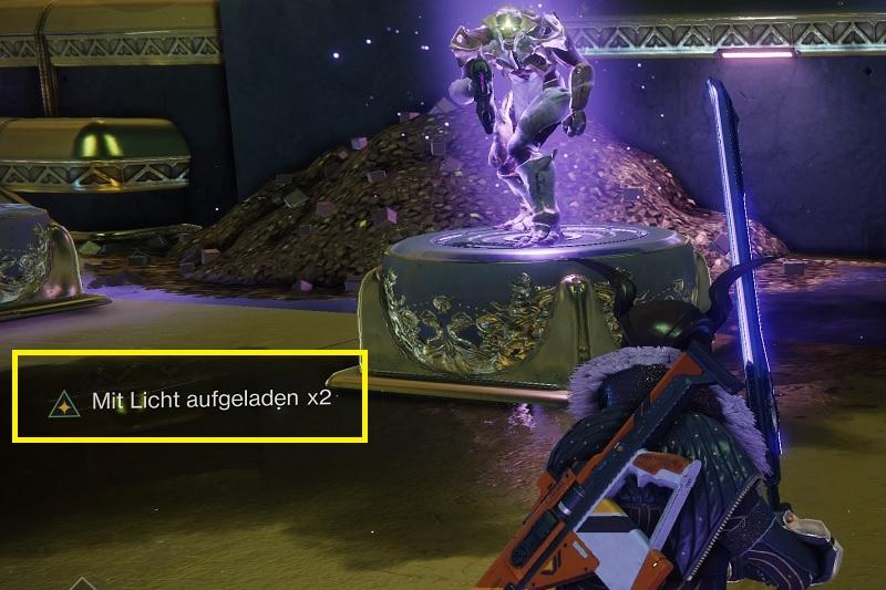 Mit Licht aufgeladen Stack Buff Destiny 2