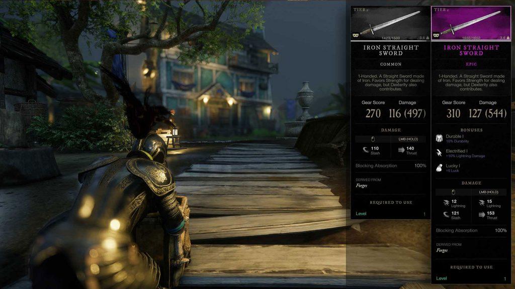 New-World-Schwert-Schmieden