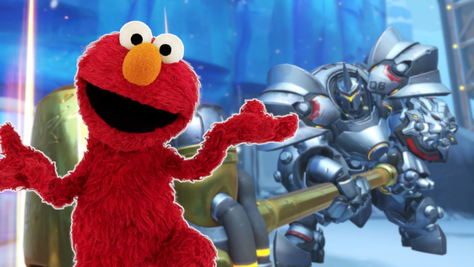 Overwatch hat einen neuen Star – Es ist Elmo aus der Sesamstraße