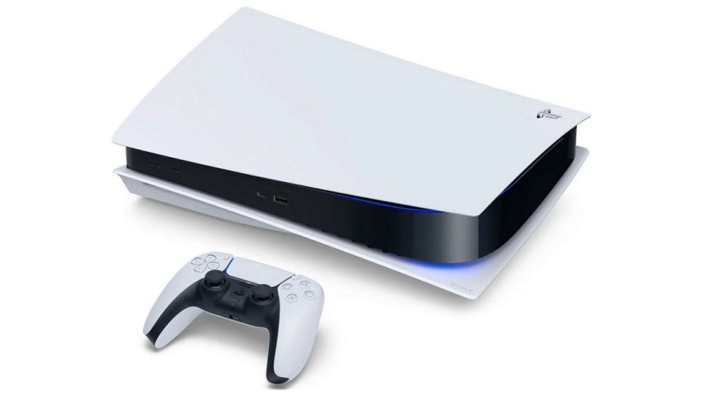 PS5 liegend