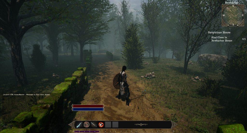 Past Fate Screenshot Kriegerin