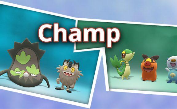 Pokémon GO Champ Nostalgie Forschung Titel