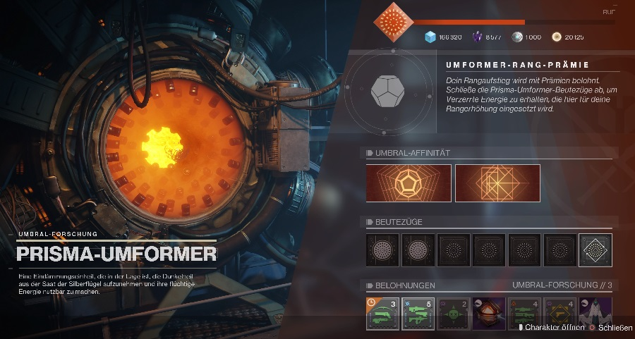 Prisma Umformer Season 11 Arrival Destiny 2