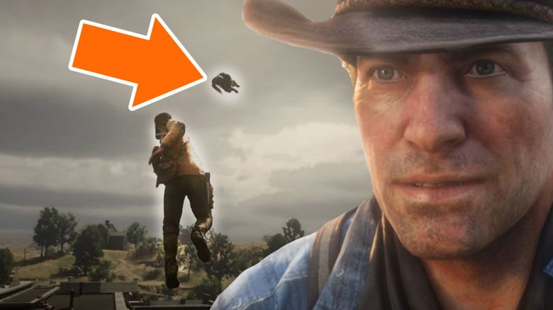 Red-Dead-Redemption-2-Arthur-Superheld-fliegen-Titel-5