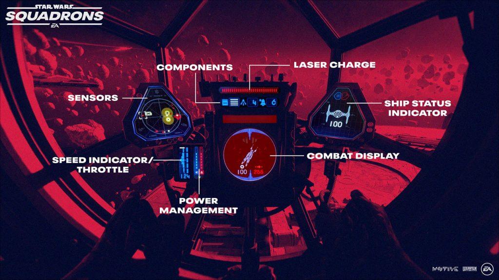 Star Wars Squadrons Cockpit