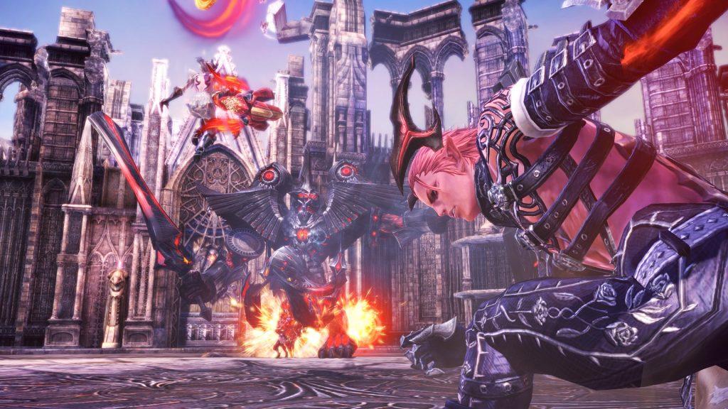 TERA Dungeon Bossfight