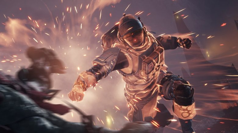 Titan Finisher Punch Schlag Melee Destiny 2 Titel