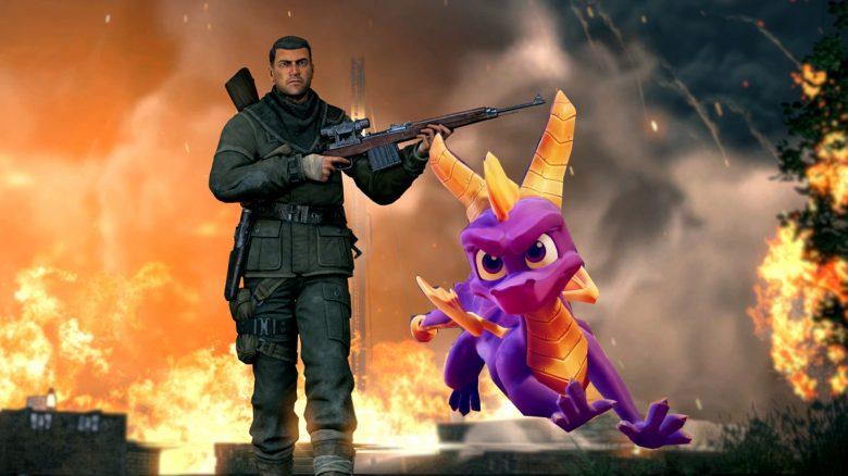 Titelbild Remastered Spiele im PS Store Sniper Elite V2 und Spyro Trilogy