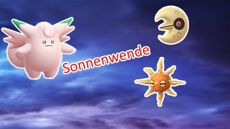 Pokémon GO: Sonnenwende-Event ist gestartet – Das müsst ihr wissen