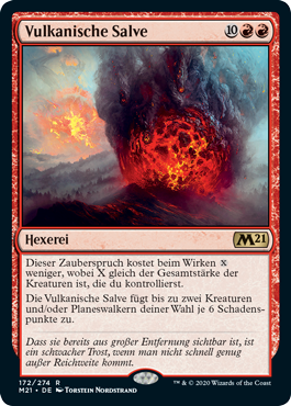 Magic: The Gathering Vulkanische Salve