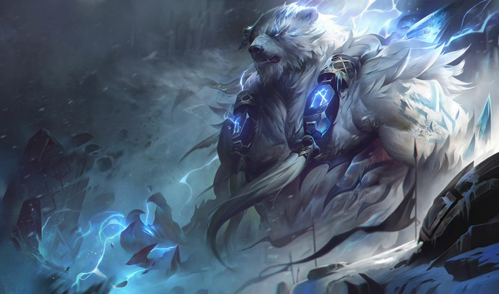 LoL League of Legends Volibear