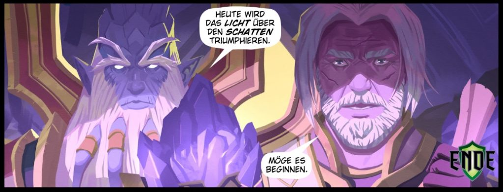 WoW Anduin Old Comic Legion