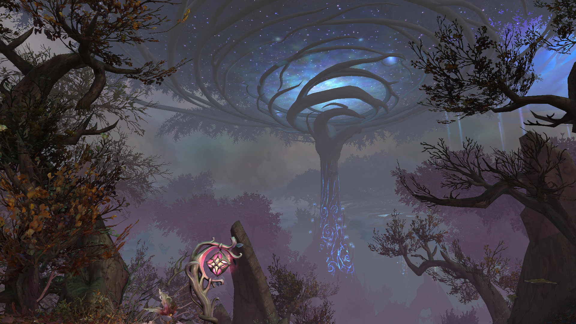 WoW Ardenweald Tree whirl