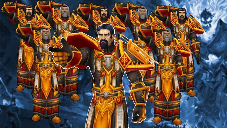 WoW Classic: 40 Palas mit 14 legendären Waffen säubern den geschmolzenen Kern