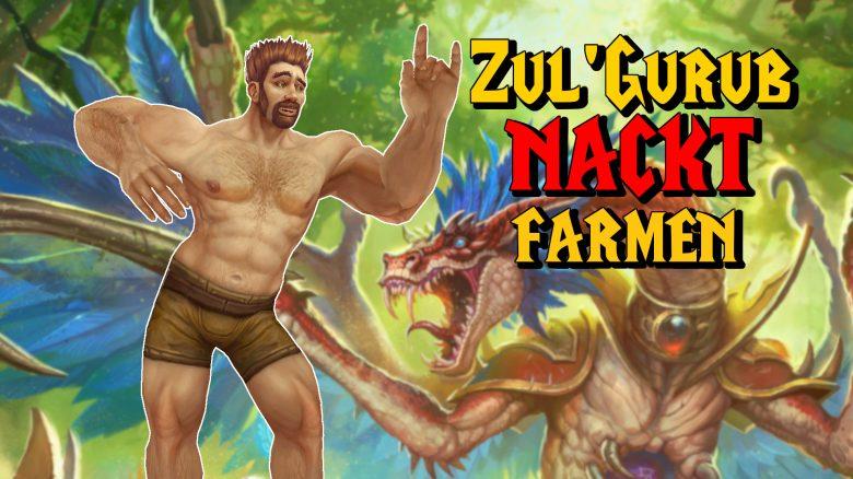 WoW Classic: Dieser Paladin farmt solo in Zul'Gurub – und das nackt!