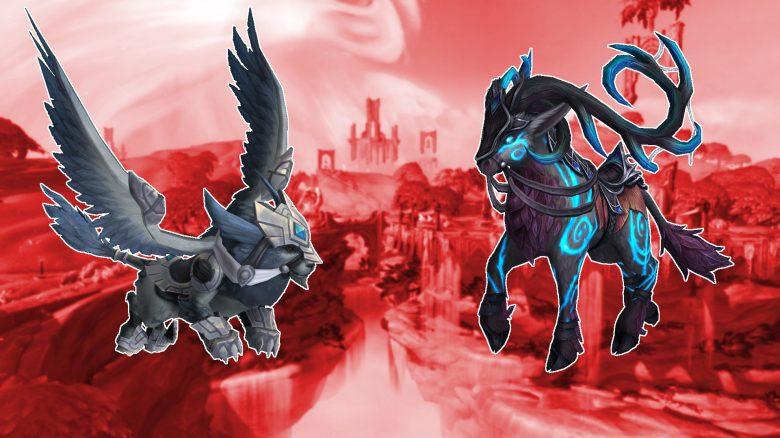 WoW Shadowlands: Mount-Sammler, aufgepasst! – Diese genialen Reittiere kommen