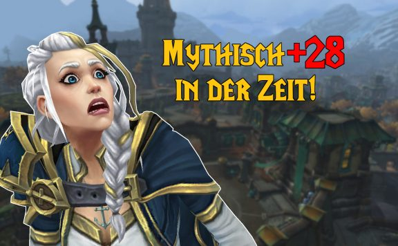 WoW Mythisch plus 28 in der Zeit jaina shock titel title 1920×1080