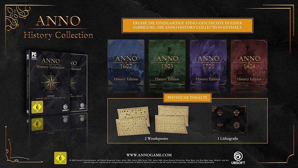 Anno History Collection Inhalte
