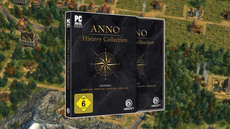 Amazon Angebot: Anno History Collection jetzt mit 15 Euro Rabatt