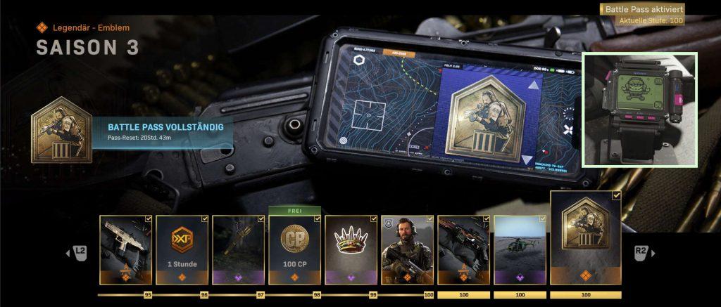 cod modern warfare warzone battle pass season 3 komplett