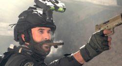 cod modern warfare warzone operator captain price zigarre pistole titel