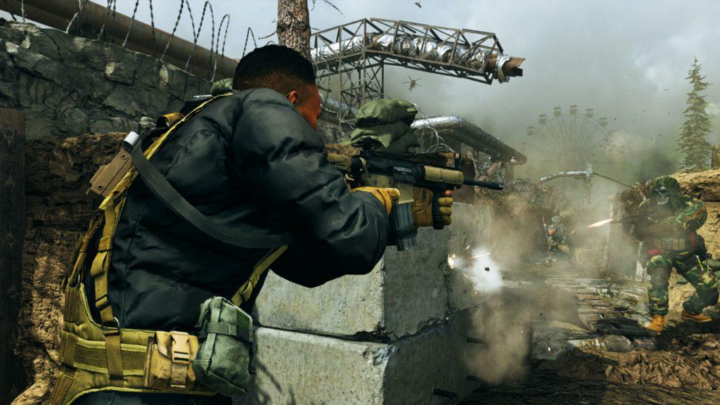 cod modern warfare warzone soldaten action trench titel