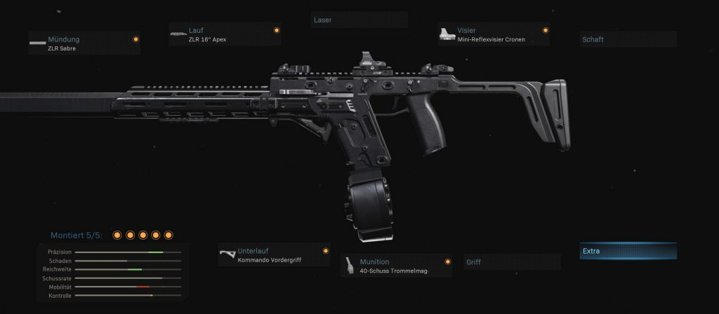 cod modern warfare warzone waffe fennek setups reichweite fog of gaming
